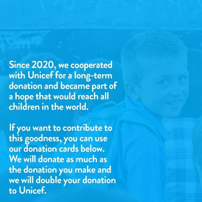 1 USD Donation to UNICEF