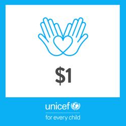 1 USD Donation to UNICEF - Thumbnail