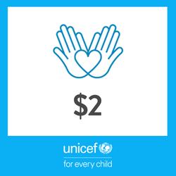 2 USD Donation to UNICEF - Thumbnail