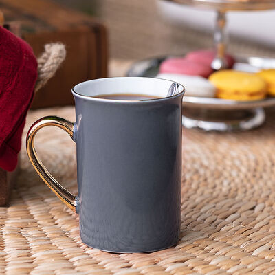 Achiko Anthracite Porcelain Mug , 225 ml
