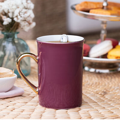 Achiko Plum Porcelain Mug , 225 ml