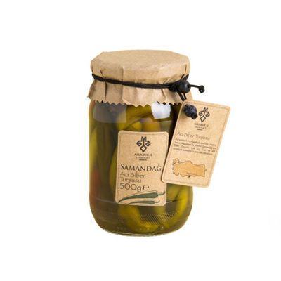 Samandag Hot Pepper Pickle , 1.1lb - 500g