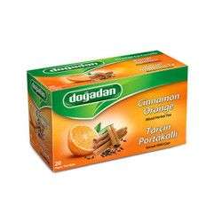 Doğadan - Cinnamon-Orange Fruit Tea , 20 teabags