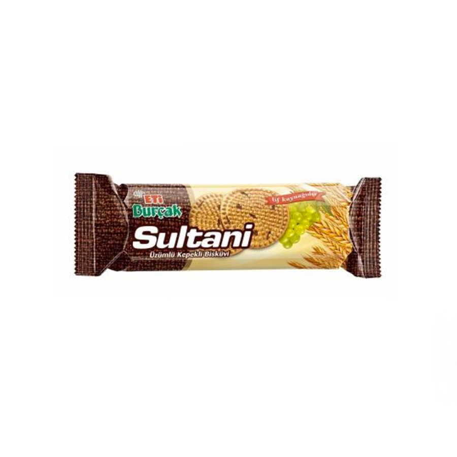 Burcak Sultani Wholemeal Biscuit With Grapes 123g 3 Pack Biscuit Crackers Turkish Snacks Summer Grilling Snacks Eti