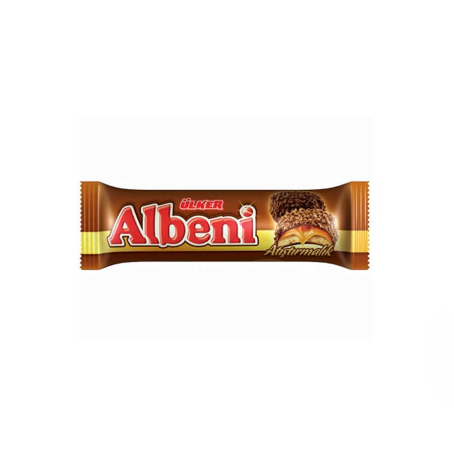 Albeni Chocolate Coated Biscuit With Caramel 4 Pack Biscuit Crackers Get 3 Pay 2 Turkish Snacks Summer Grilling Snacks Ulker