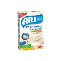Arı Gıda - 12 Vitamins 6 Min. Goat Milky Rice Flour , 200 g