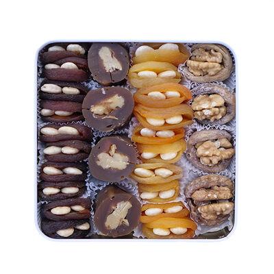 Assorted Dried Fruit , 28 pieces - 19.40oz - 550g