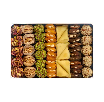 Assorted Dried Fruit , 51 pieces - 2.09lb - 950g