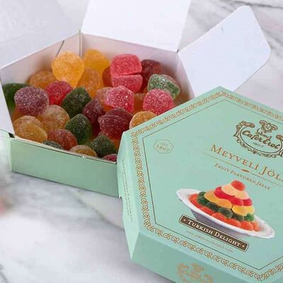 Assorted Fruit Flavored Jelly, 8.81oz - 250g
