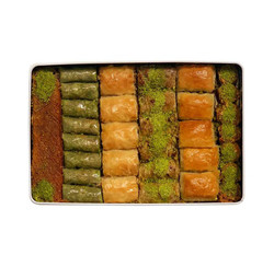 Handmade Assorted Baklava , 32 pieces - 2.2lb - 1kg - Thumbnail