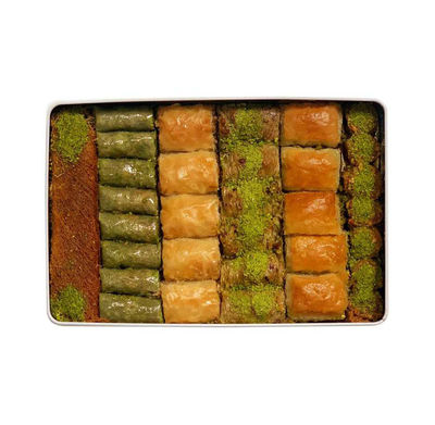 Handmade Assorted Baklava , 32 pieces - 2.2lb - 1kg