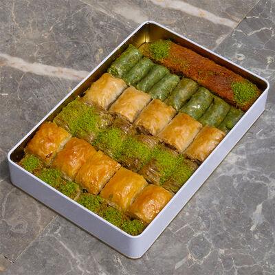 Handmade Assorted Baklava , 32 pieces - 2.2lb - 1kg