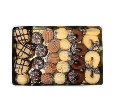 Assorted Sweet Cookies , 19.36oz - 550g