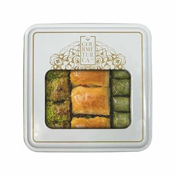 Assorted Trio Baklava , 16 pieces - 1.1lb - 500g - Thumbnail