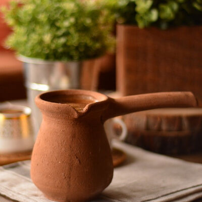 Bambum Mırra Earthenware Coffee Pot