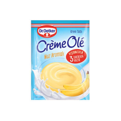 Banana Flavored Cream Dessert , 3.88oz -110g 2 pack