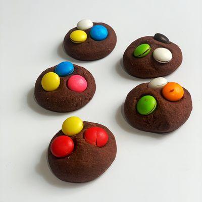 Black Cookies with Bonibon, 16 pieces - 8.80oz - 250g