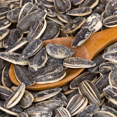 Roasted Black Sunflower Seeds , 8.82oz - 250g