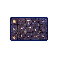 Brownie Chocolate Turkish Delight With Hazelnut , 12oz - 350g - Thumbnail