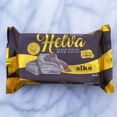 Cacao Flavored Tahini Halva , 200g - 7.1oz