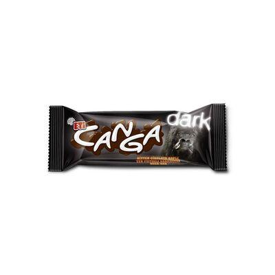 Canga Dark Chocolate with Peanut and Caramel, 1.58oz - 45g 3 pack