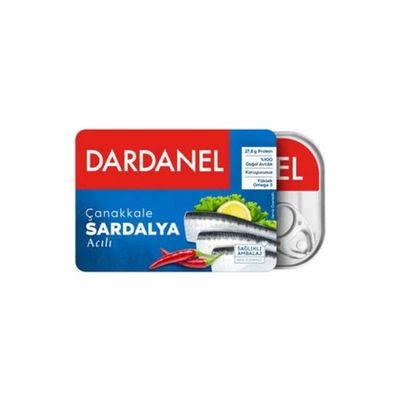 Canned Spicy Çanakkale Sardines , 100g