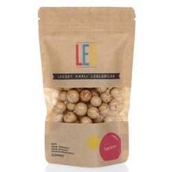 Leb - Cappuccino Flavoured Milk Chocolate Coated Roasted Chickpeas , 5oz - 150g