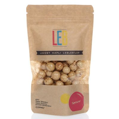 Cappuccino Flavoured Milk Chocolate Coated Roasted Chickpeas , 5oz - 150g