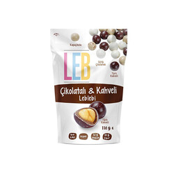 Chocolate and Coffee Flavored Roasted Chickpeas , 3.8oz - 110g - Thumbnail