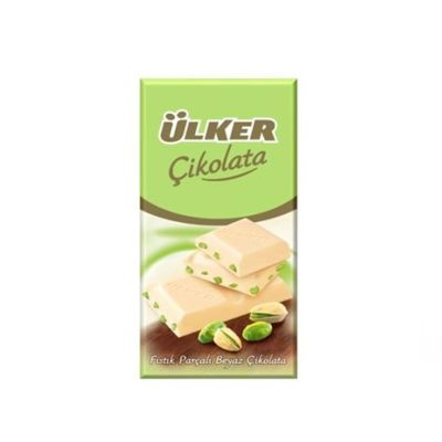 Chocolate Pistachio White Tablet , 2 pack