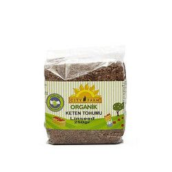 City Farm - Organic Flaxseed , 9oz - 250g