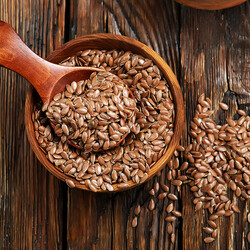 Organic Flaxseed , 9oz - 250g - Thumbnail
