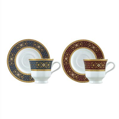 Classic Coffee Cup Set, 6 pieces