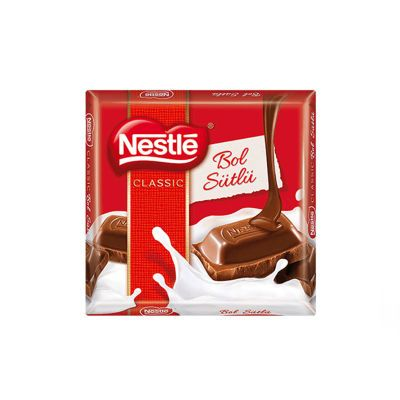 Classic Milky Square Chocolate , 2 pack
