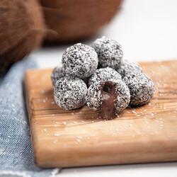 Coconut Coated Cacao & Hazelnut Flavored Lokma , 3.3oz - 96g - Thumbnail