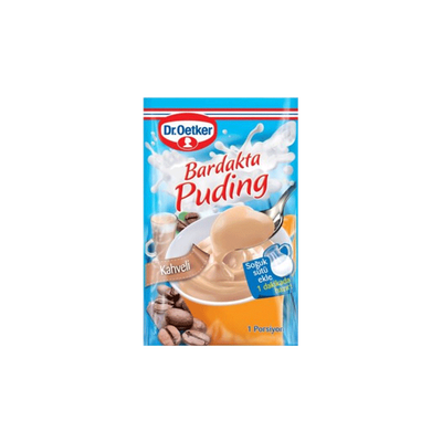 Coffee Pudding in Glass , 1.05oz - 30g 3 pack