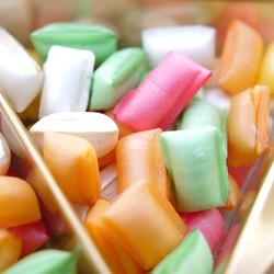 Colorful Mint Rock Candy , 250g - 8.8oz - Thumbnail