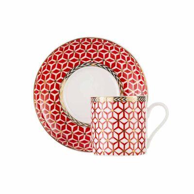 Courtesy Porcelain Espresso Cup Set, 2 pieces