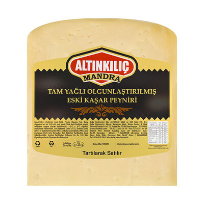 Dairy Aged Kasseri Cheese , 10.5oz-300g