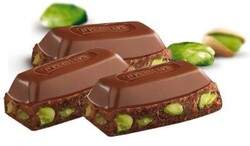Damak Pistachio Milky Square Chocolate, 2.29oz - 65g 6 pack - Thumbnail