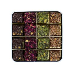 Delight Box of Rose, Pomegranate and Cacao Flavors , 16 pieces - Thumbnail