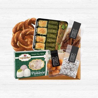 Dessert and Bakery Basket, 9 pieces