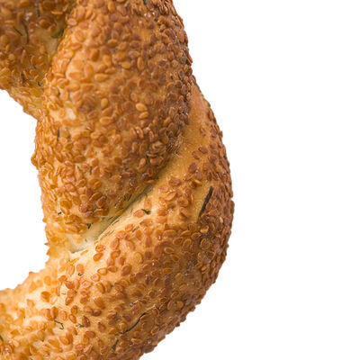 Dill Flavored Simit , 2 Pieces