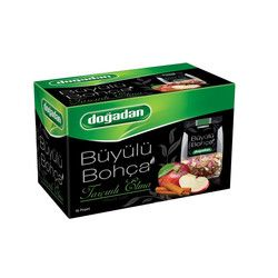 Doğadan - Büyülü Bohça Apple Fruit Tea with Cinnamon , 16 teabags