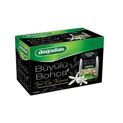 Büyülü Bohca Green Tea with Jasmine , 16 teabags