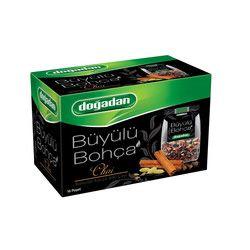 Doğadan - Büyülü Bohça Mixed Herbal Tea with Chai , 16 teabags