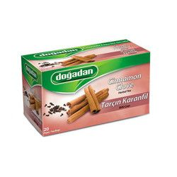 Doğadan - Cinnamon-Clove Herbal Tea , 20 teabags