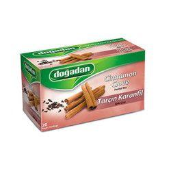 Doğadan - Cinnamon-Clove Herbal Tea , 20 teabags