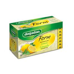 Doğadan - Form Mixed Herbal Tea with Lemon , 20 teabags