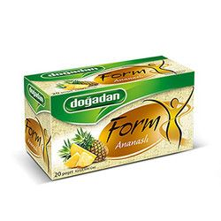 Doğadan - Form Mixed Herbal Tea with Pineapple , 20 teabags